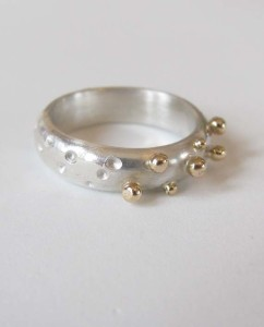 14k Gold & Sterling Silver Ring