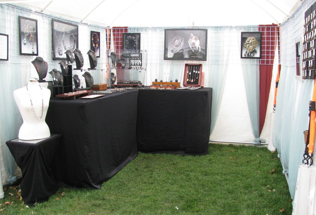 My outdoor booth from 2015.