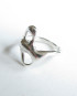 "Abstract Sterling Silver ""Butterfly"" Ring, Size 6.5"