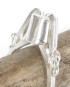 Sterling Silver Cone Dot Ring, Size 7