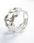 Sterling Silver 3D Woven Vine Ring, Size 8